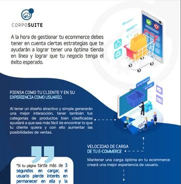 Infografia-tips para una gestion de ecommerce